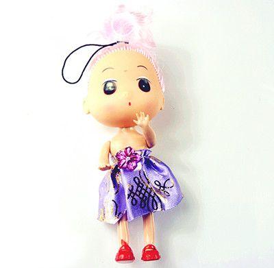 可爱芭比娃娃挂件