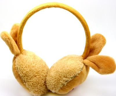 韩版秋冬 保暖耳套耳包 可爱熊猫耳罩 毛绒暖冬耳捂 卡通动物耳包