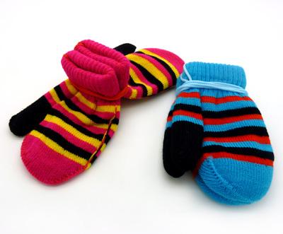 宝宝彩虹袜子钩针图解