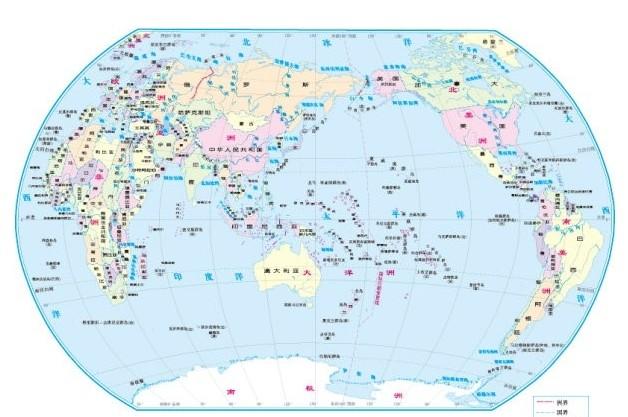 世界地图(大)