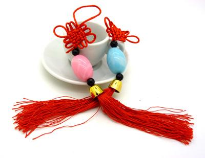 串珠编织葫芦图解