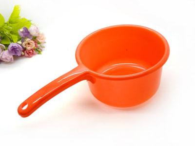 透明加厚 水勺 水瓢 厨房 大 水舀 塑料长柄 宝宝洗澡