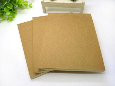 创意韩国文具 复古牛皮纸 空白涂鸦本记事本子计算纸草稿本便签本 -牛