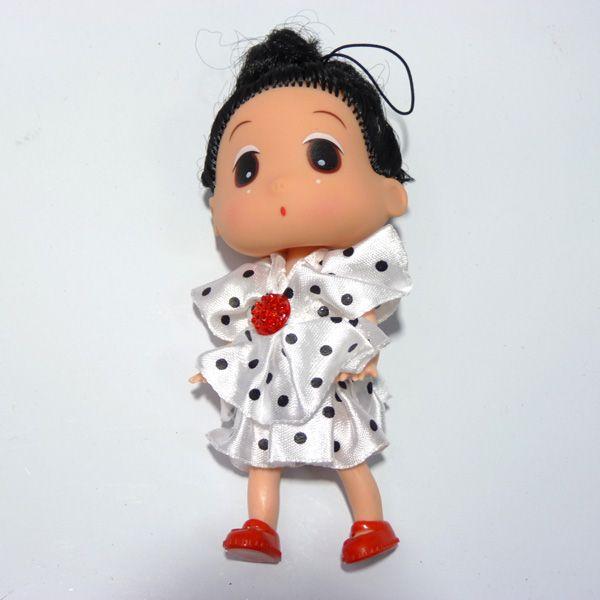 【2元店2元毛绒】毛绒系列可爱芭比娃娃挂件/超市挂件儿童玩具娃娃徐家汇挂件玩具店图片