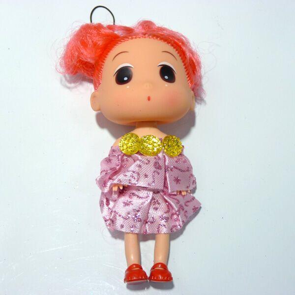 2元超市】挂件系列 可爱芭比娃娃挂件/毛绒挂件 儿童玩具娃娃 大头 玩