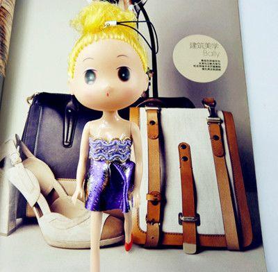 首页 【2元店】挂件系列 可爱芭比娃娃挂件 时尚大脸/礼服长腿迷糊