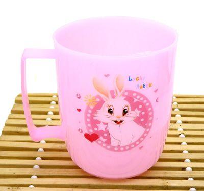 热卖 塑料杯 家居杯啤酒杯 茶杯摔不碎杯子小兔子杯 -8023漱口杯