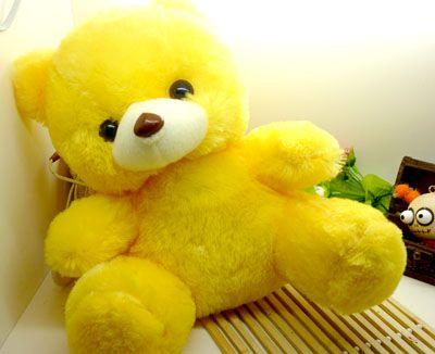 儿童玩具 毛绒玩具 大抱抱熊/黄色小熊