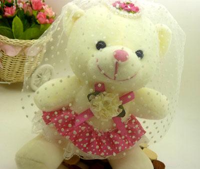 毛绒玩具 生日礼物 婚庆礼品 卡通小熊/可爱穿衣服小熊
