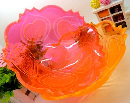 新年糖果盘/储物盘/水果盘/塑料水果拼盘/401加厚