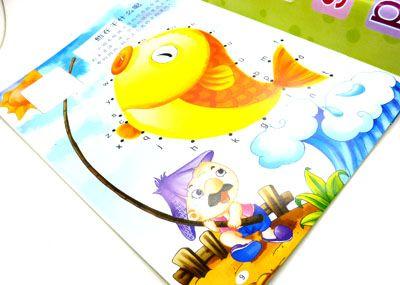 韩版卡通贴贴纸 智力贴贴画 儿童贴贴图 智力贴贴画