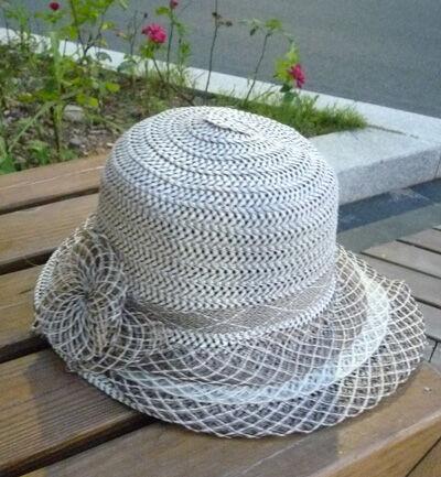 帽子女韩版夏天遮阳帽防晒帽 防紫外线太阳帽 编制时尚凉帽