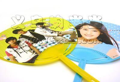 可爱扇大号扇子 美女明星卡通扇子 芭蕉大浦扇 清凉扇子 塑料纸扇