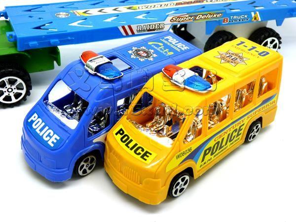大卡车惯性运输车 拖车