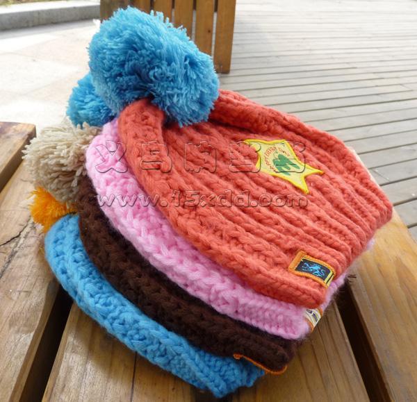新款儿童纯棉帽子宝宝帽子 西瓜套头帽 婴儿帽-14