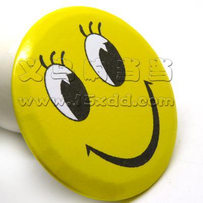 可爱卡通儿童笑脸胸章 笑脸徽章 笑脸胸针 笑脸胸牌 卡通胸章