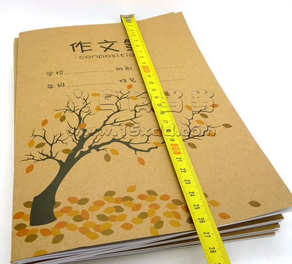 创意牛皮作文本 大软面抄笔记本