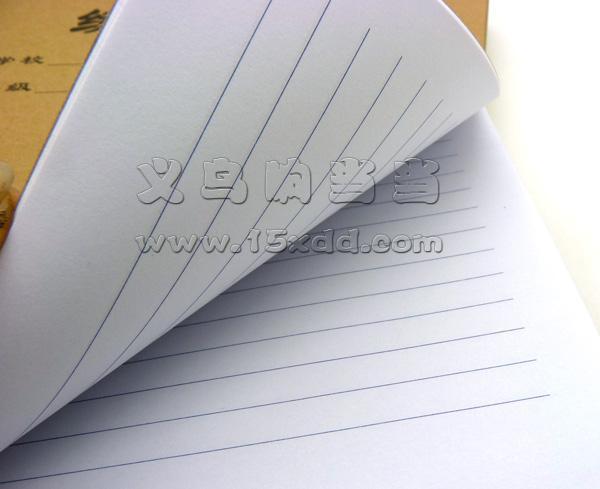 创意牛皮作文本 大软面抄笔记本 牛皮封面作文本 学生