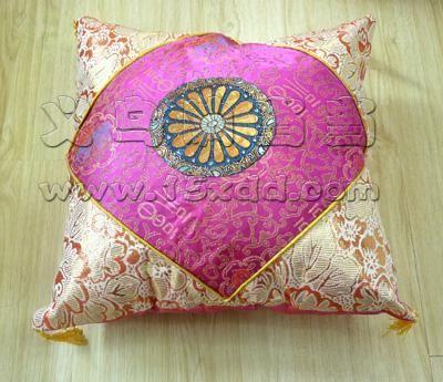 高档家居多彩汇 欧式风格 唯美古典英伦清新花纹纯棉沙发靠垫抱枕 车