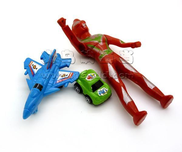 小孩玩具 奥特曼陆空组合 超级奥特曼 小汽车飞机儿童