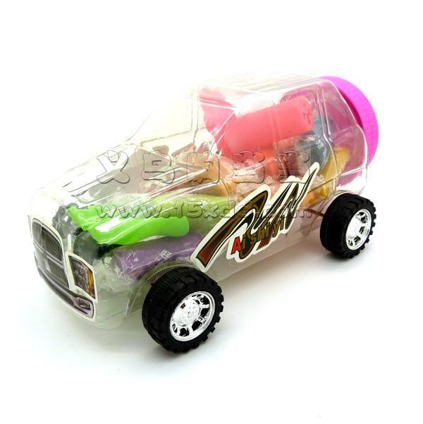 儿童卡通小汽车橡皮泥
