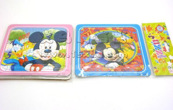 硬纸板宝宝早教益智力3-4-5-7岁幼儿玩具卡通立体