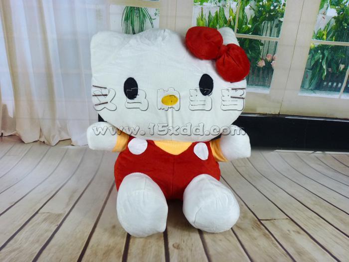 kitty娃娃凯蒂猫公仔kt猫毛绒玩具