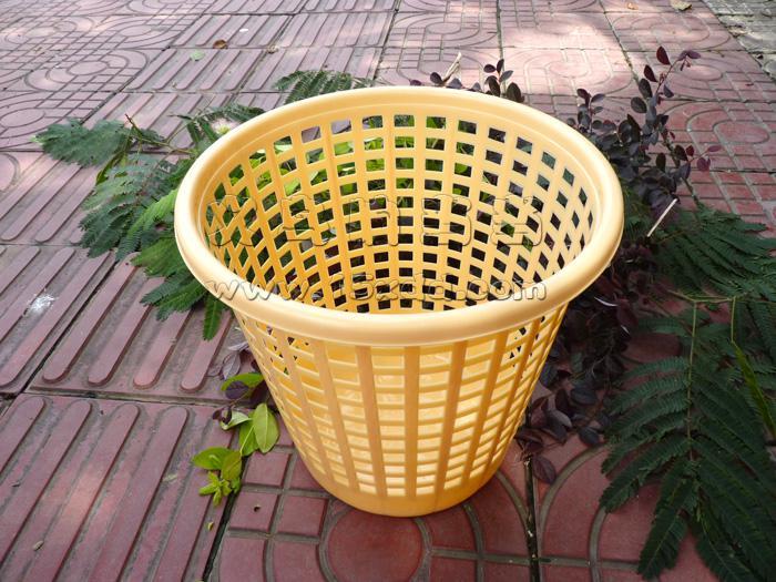 塑料垃圾筒 废纸篓 蓝色垃圾桶