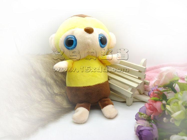 卡通钥匙扣小动物毛绒玩具布娃娃挂件婚庆结婚礼品礼物玩具批发