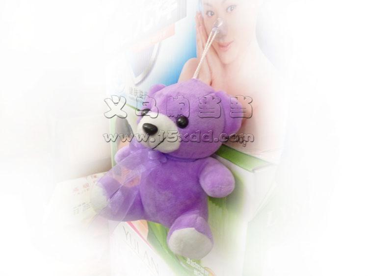 卡通钥匙扣小动物毛绒玩具布娃娃挂件婚庆结婚礼品