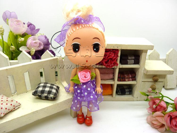 可爱芭比娃娃挂件/毛绒挂件 娇儿梦幻公主换装衣橱芭比洋娃娃甜甜屋