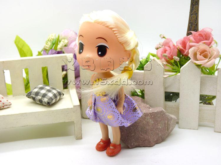 可爱芭比娃娃挂件/毛绒挂件 娇儿梦幻公主换装衣橱芭比洋娃娃甜甜屋芭