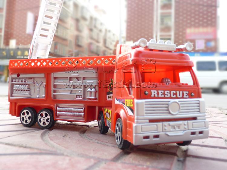 大号消防车仿真救火警模型119儿童玩具汽车礼物-119消防车卡通画
