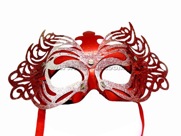 化妆舞会面具 蝴蝶面具 儿童卡通面具 晚会表演面具