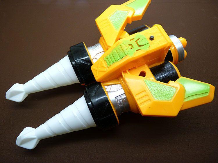 5元灯光音乐铠甲勇士刑天2玩具级爆雷钻超级爆雷炮变形爆雷
