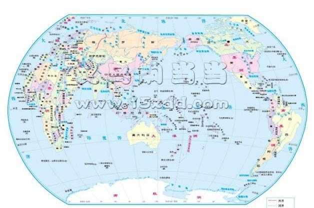 世界地图(大)_立体画